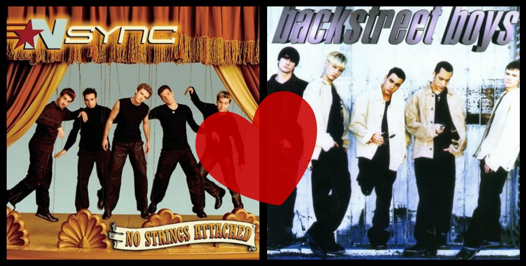 boy band collage I feel like my Pandora is judging me when it plays NSync...