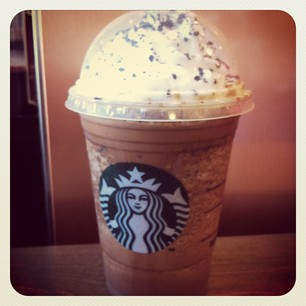 Mocha Cookie Crumble Frappuccino Adorably Caffeinated